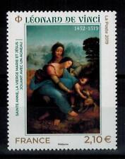 """(b21) timbre France nouveauté année 2019 """"léonard de vinci"""""""
