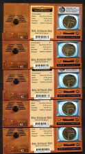 2006 Fifty Years Of Australian Television Dollar Complete Mintmark Set