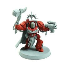Warhammer 40k Ejército Espacio Marines Blood Angels Capitán Parte Pintado / sin