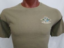 Potter County PA Brown Embroidered Graphic T Shirt 100% Cotton L Large