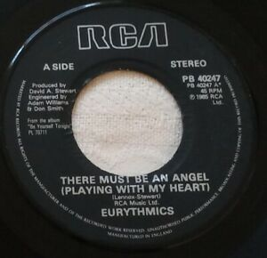 """Eurythmics - There Must Be An Angel  -  7"""" Vinyl Single  1985"""