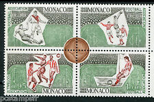 MONACO - 1963 - timbres 628/631, SPORT, FOOTBALL, CENTENAIRE, neuf**, MNH STAMPS