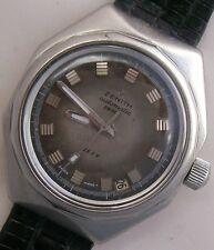 Zenith Defy wristwatch Steel Case 37 mm. in diameter Automatic Date