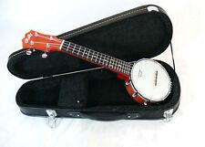 Rally Soprano Ukulele banjo 4 string open back DUB-JR