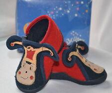 """Pantoufles / chaussons de la marque """"BELLAMY"""" thème ARLEQUIN pointure 19 en BE"""