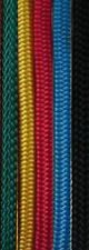8MM  DBL BRAID POLYESTER YACHT ROPE-Per Metre-Solid Col