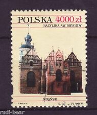 Polen Nr. 3502 gest.  Basillika der heiligen Brigitte   -1