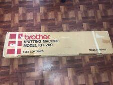 Knitting Machine Brother Kh260 9mm