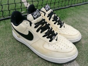 Nike Air Force 1 Low White Cream Patina  Patent  Vintage 2005 Trainers UK11 EU46