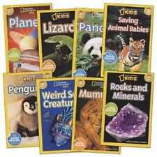 RANDOM LOT 6 Level 2/3 National Geographic Kids Early Reader Nonfiction FREESHIP