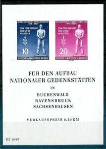 Briefmarken DDR Block 11 postfrisch