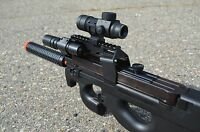 One New Well D90H AEG Electric Fully Automatic Airsoft BELGIUM P-90 Deluxe Gun