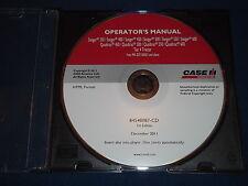 CASE STEIGER 350 400 450 500 550 600 TRACTOR OPERATION & MAINTENANCE MANUAL CD