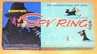 Spy Ring Board Game Vintage 1965  Waddingtons 100% Complete Original - see pics