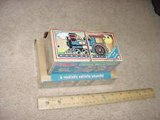 WOODEN - VEHICLE SOUND BLOCKS - by Melissa & Doug - NEW