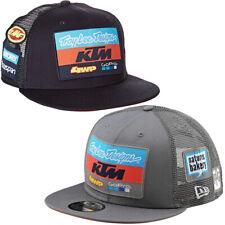 OFFICIAL TROY LEE KTM SNAPBACK CAP ADIDAS GoPRO hat mx motocross NAVY BLUE GREY