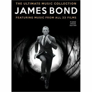 The Ultimate James Bond Collection - 23 Film Scores - Piano Vocal Songbook