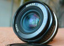 GREAT Nikon Nikkor 20mm  f/3.5 AI lens