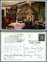 WASHINGTON DC Postcard - Marjory Hendricks' Water Gate Inn Restaurant M6