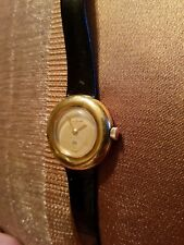 Vintage Maurice Guerdat Round Face Ladies Wristwatch. Works.