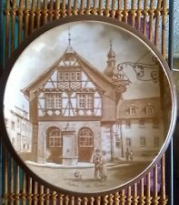 Vintage Hofheim/ Altes Rothaus Germany Porcelain Collector's Wall Plate