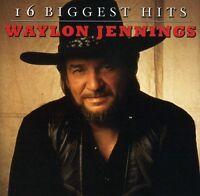 Waylon Jennings - 16 Biggest Hits [New CD]