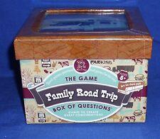 Melissa & Doug Family Road Trip Game Box of Questions Activities 8+ Travel NIB