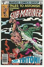 Tales to Astonish #2 Sub-Mariner 2nd Issue Reprint 1979 Marvel Comics Hi Grade