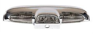 Jaguar MKX S-Type 1961-70 Complete Boot Lid Number Plate Lamp Chrome Plinth(711)