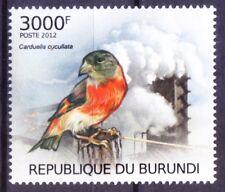 Red Siskin, Air pollution and birds, Birds, Burundi 2012 MNH - G@