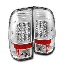 FORD 2011-2015 SUPER DUTY F250 F350 F450 F550 CHROME LED REAR TAIL BRAKE LIGHTS