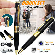 MINI SPY PEN HD Cam Telecamera Nascosta 32 GB DVR USB VIDEO REGISTRAZIONE Spycam UK STOCK