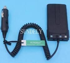 Car Radio Battery Eliminator Charger For Kenwood TK-370G TK-3102 TK-3107 TK-3202