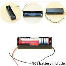 Porta batterie 2 pezzi x18650 stilo batteria case holder contenitore con Filo