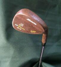 Mizuno MP T Series 53 - 08 Degree Rusty Raw Gap Wedge Stiff Steel Shaft