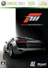 USED Forza Motorsport 3 Japan Import Xbox 360