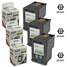 LD © Reman Replacement Ink Cartridges for HP CC654AN HP 901XL HY Black 3pk