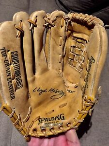 """Vintage Spalding Lloyd Moseby Competition Series 42-074 11"""" glove LHT"""