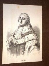 Re Luigi XVI Storia della Rivoluzione Francese di Adolfo Thiers