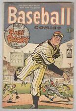 Baseball Comics #1 Spring 1949 VG- Eisner cover and art