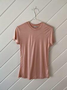 Zara - Ladies Pink T-Shirt - Size M.
