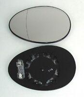 Miroir de Verre Gauche pour Mini (R55/56/57) à partir de An 10/2006 Électrique