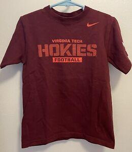 Virginia Tech Hokies Football Maroon Nike T-Shirt Youth 4T