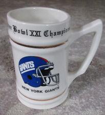Superbowl Xxi Champions: New York Giants Stein/Mug