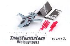 Starscream 100% Complete Cyberverse Commander Prime Transformers