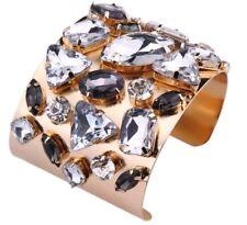 Edler hochwertiger Statement Armreif Armspange Swarovski Elements Kristall. NEU