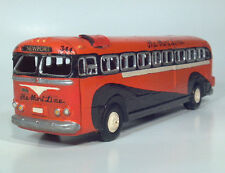 GM PD 3702 The Short Line Newport New York NYC Brass Cast City Transit Bus Model