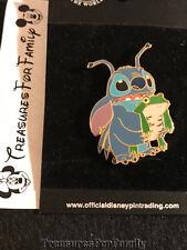 Disney Pin Lilo and Stitch Stitch Holding a Frog 2003 NEW FREE SHIP