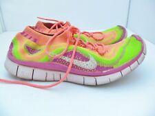Women's Nike Free 5.0 Flyknit running shoes sneakers size 8