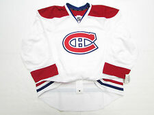 MONTREAL CANADIENS AUTHENTIC AWAY TEAM ISSUED REEBOK EDGE 2.0 7287 JERSEY SZ 52